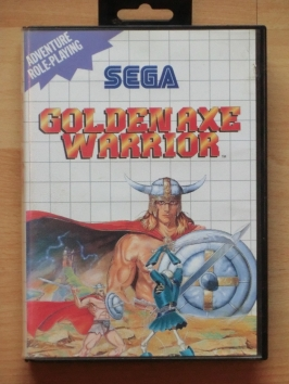 Golden Axe Warrior Master System RPG
