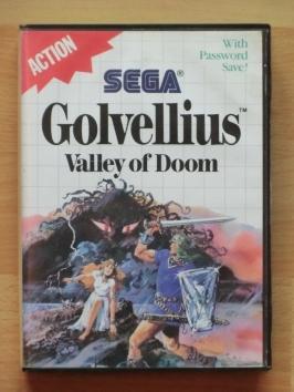 Golvellius Valley of Doom Master System RPG Adventure