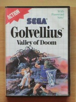 Golvellius Valley of Doom Master System RPG Adventure