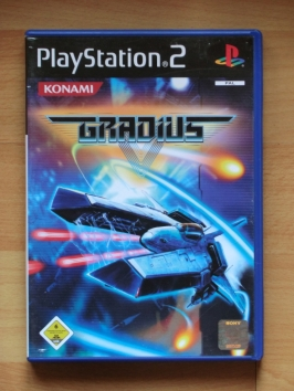 Gradius 5 PlayStation 2 PS2 Shmup