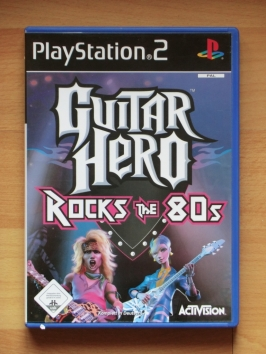 Guitar Hero Rock the 80s PlayStation 2 PS2 Music