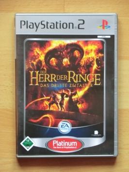 Herr der Ringe Das Dritte zeitalter third age PlayStation 2 PS2 RPG