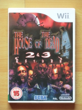 The House of the Dead 2 & 3 Nintendo WII Shooting Lightgun