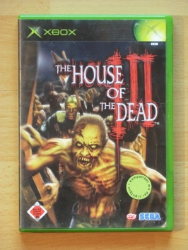House of the Dead 3 Microsoft XBOX Shooter Lightgun