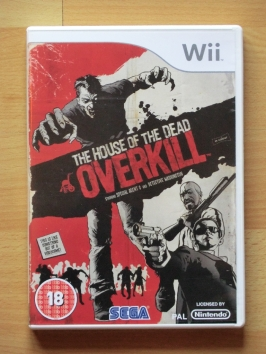 The House of the Dead Overkill Nintendo WII Shooting Lightgun