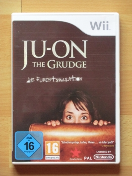 JU-ON JUON The Grudge Nintendo WII Survival Horror