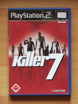 Killer 7 PlayStation 2 PS2 Shooter FPS