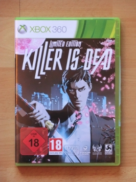 Killer is Dead Microsoft Xbox 360 Hack and Slay