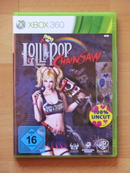 Lollipop Chainsaw Microsoft Xbox 360 Hack and Slay