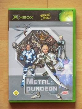 Metal Dungeon Microsoft XBOX RPG Dungeon Crawler