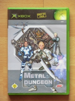 Metal Dungeon Microsoft XBOX RPG Dungeon Crawler