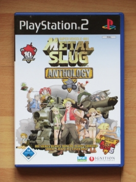 Metal Slug Anthology 2 3 4 5 6 X PlayStation 2 PS2 Run and Gun