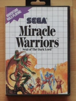 Miracle Warriors - Seal of the Dark Lord Master System RPG