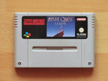 Mystic Quest Legend Super Nintendo SNES RPG