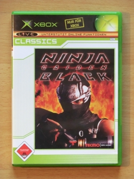 Ninja Gaiden Black Microsoft XBOX