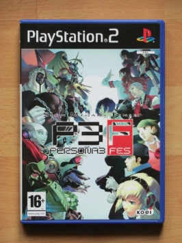 Persona 3 FES PlayStation 2 PS2 RPG