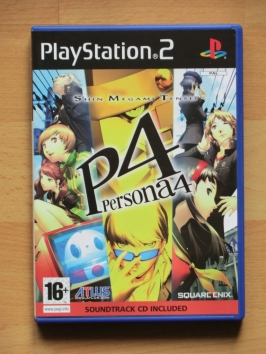 Persona 4 PlayStation 2 PS2 RPG