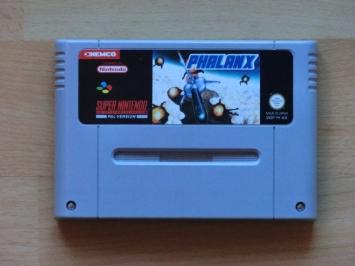 Phalanx Super Nintendo SNES Shmup