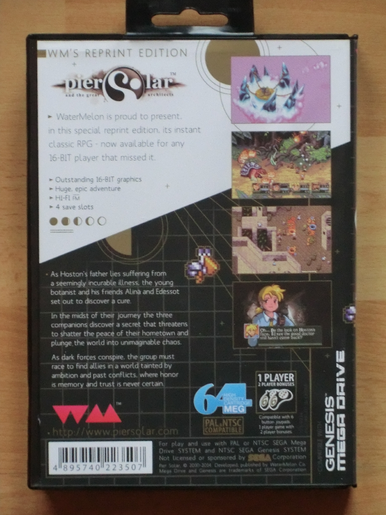 Pier Solar and the great architects MEGA Drive RPG