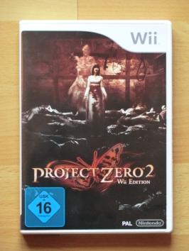 Project Zero 2 Fatal Frame Nintendo WII Survival Horror
