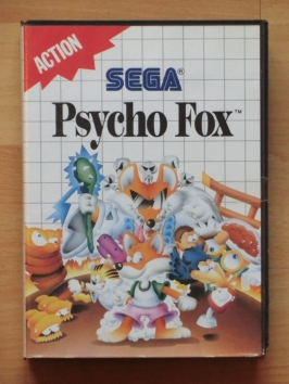 Psycho Fox Master System Jump and Run