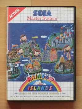 Rainbow Islands Master System Jump and Run