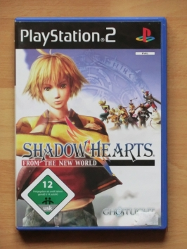 Shadow Hearts from the New World PlayStation 2 PS2 RPG