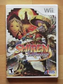 Shiren the Wanderer Nintendo WII RPG Dungeon Crawler
