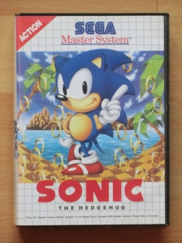 Sonic Master System Jump and Run