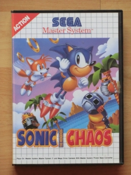 Sonic Chaos Master System Jump and Run