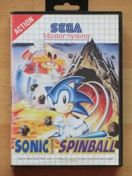 Sonic Spinball Master System Pinball Flipper