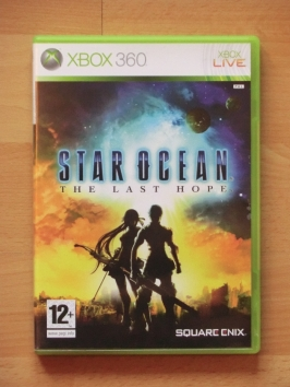 Star Ocean The Last Hope Microsoft Xbox 360 RPG