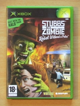 Stubbs the Zombie Rebel without a Pulse Microsoft XBOX Action