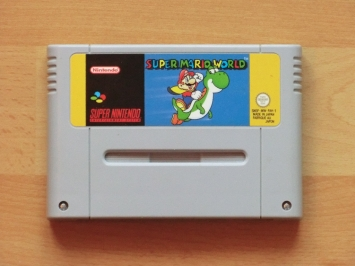 Super Mario World Super Nintendo SNES Jump and Run