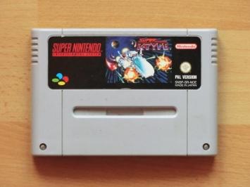 Super R-Type Super Nintendo SNES Shmup