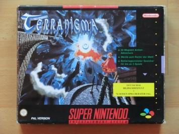 Terranigma Super Nintendo SNES RPG