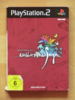 Unlimited Saga PlayStation 2 PS2 RPG