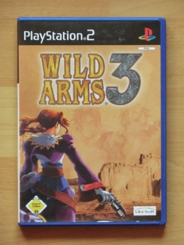 Wild Arms 3 PlayStation 2 PS2 RPG