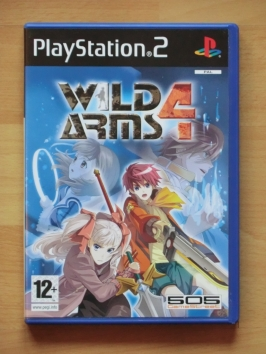 Wild Arms 4 PlayStation 2 PS2 RPG