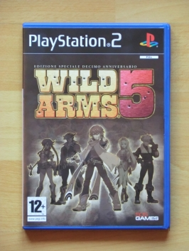 Wild Arms 5 PlayStation 2 PS2 RPG