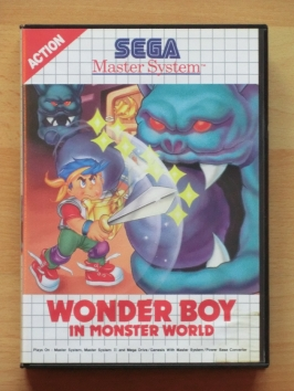 Wonderboy in Monster World Master System RPG Adventure