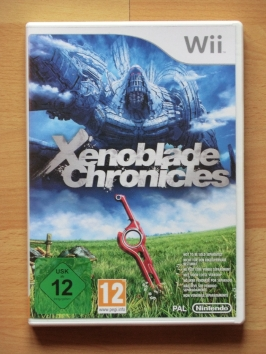 Xenoblade Chronicles Nintendo WII RPG