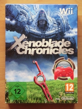 Xenoblade Chronicles LE Limited Edition Nintendo WII RPG