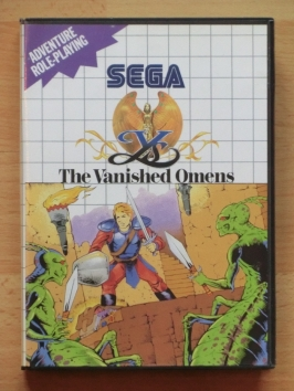Ys The Vanished Omens Master System RPG
