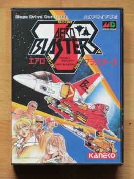 Aero Blasters Mega Drive Shmup
