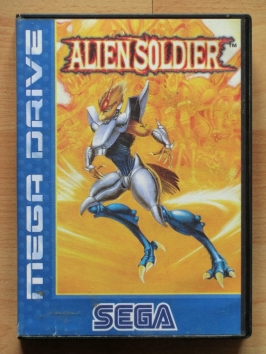 Alien Soldier Mega Drive Run and Gun