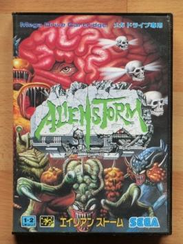 Alien Storm Mega Drive Action