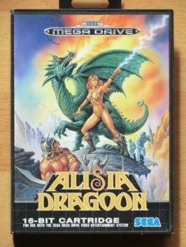 Alisia Dragoon Mega Drive Action