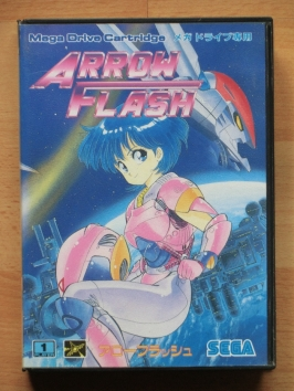 Arrow Flash Mega Drive Shmup