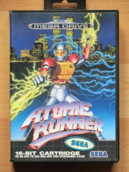 Atomic Runner Mega Drive Action